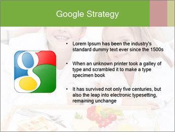 Healthy kids having a light breakfast PowerPoint Templates - Slide 10