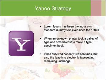 Healthy kids having a light breakfast PowerPoint Templates - Slide 11