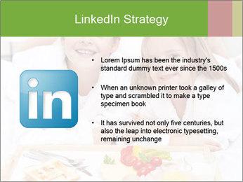 Healthy kids having a light breakfast PowerPoint Templates - Slide 12