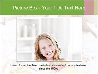 Healthy kids having a light breakfast PowerPoint Templates - Slide 15