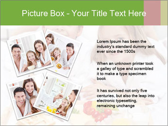 Healthy kids having a light breakfast PowerPoint Template - Slide 23