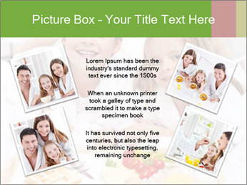 Healthy kids having a light breakfast PowerPoint Template - Slide 24