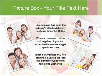 Healthy kids having a light breakfast PowerPoint Templates - Slide 24