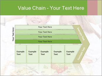 Healthy kids having a light breakfast PowerPoint Templates - Slide 27