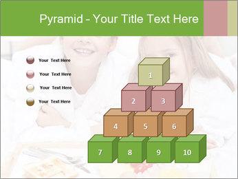Healthy kids having a light breakfast PowerPoint Templates - Slide 31