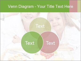 Healthy kids having a light breakfast PowerPoint Templates - Slide 33