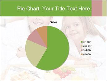 Healthy kids having a light breakfast PowerPoint Templates - Slide 36