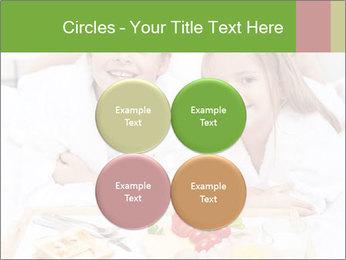 Healthy kids having a light breakfast PowerPoint Templates - Slide 38