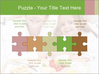 Healthy kids having a light breakfast PowerPoint Templates - Slide 41