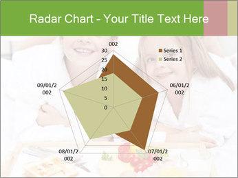 Healthy kids having a light breakfast PowerPoint Templates - Slide 51