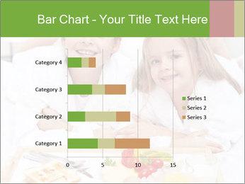 Healthy kids having a light breakfast PowerPoint Templates - Slide 52