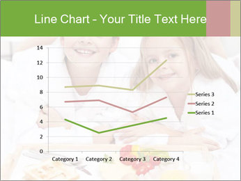 Healthy kids having a light breakfast PowerPoint Templates - Slide 54