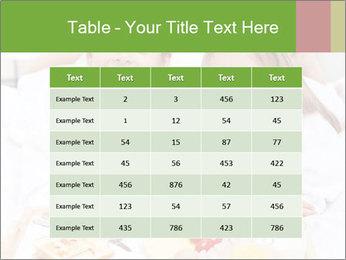 Healthy kids having a light breakfast PowerPoint Templates - Slide 55