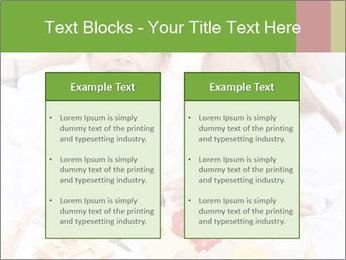 Healthy kids having a light breakfast PowerPoint Templates - Slide 57