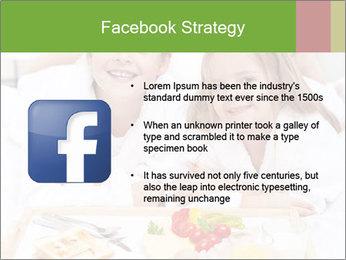 Healthy kids having a light breakfast PowerPoint Templates - Slide 6