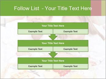 Healthy kids having a light breakfast PowerPoint Templates - Slide 60