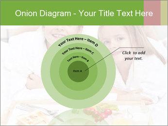 Healthy kids having a light breakfast PowerPoint Templates - Slide 61