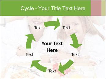 Healthy kids having a light breakfast PowerPoint Templates - Slide 62