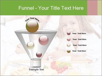 Healthy kids having a light breakfast PowerPoint Templates - Slide 63