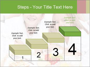 Healthy kids having a light breakfast PowerPoint Templates - Slide 64