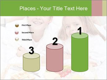 Healthy kids having a light breakfast PowerPoint Templates - Slide 65