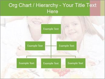 Healthy kids having a light breakfast PowerPoint Templates - Slide 66