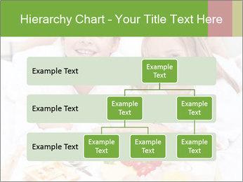 Healthy kids having a light breakfast PowerPoint Templates - Slide 67