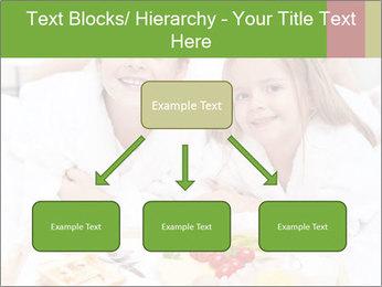 Healthy kids having a light breakfast PowerPoint Templates - Slide 69