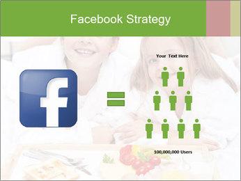 Healthy kids having a light breakfast PowerPoint Templates - Slide 7