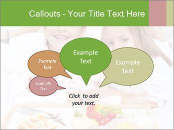 Healthy kids having a light breakfast PowerPoint Templates - Slide 73