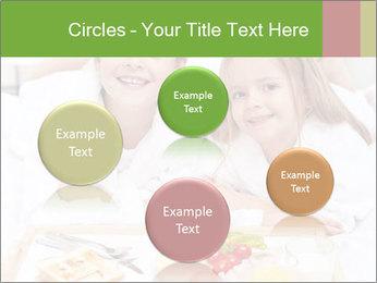 Healthy kids having a light breakfast PowerPoint Templates - Slide 77