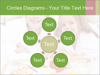 Healthy kids having a light breakfast PowerPoint Templates - Slide 78