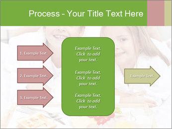 Healthy kids having a light breakfast PowerPoint Templates - Slide 85