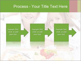 Healthy kids having a light breakfast PowerPoint Templates - Slide 88