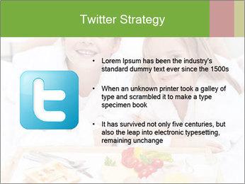 Healthy kids having a light breakfast PowerPoint Templates - Slide 9