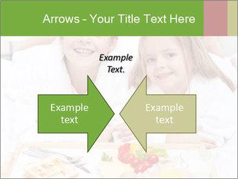 Healthy kids having a light breakfast PowerPoint Templates - Slide 90