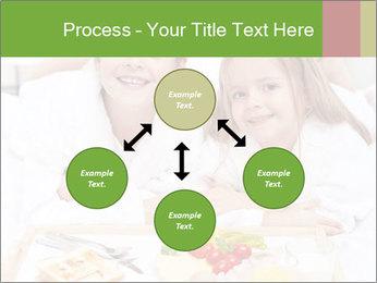 Healthy kids having a light breakfast PowerPoint Templates - Slide 91