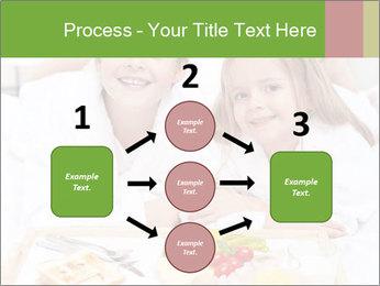 Healthy kids having a light breakfast PowerPoint Templates - Slide 92