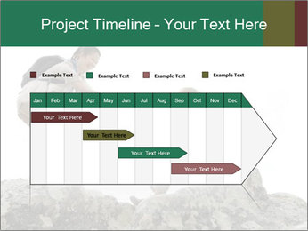 Hiker woman helps PowerPoint Templates - Slide 25