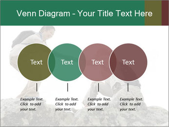 Hiker woman helps PowerPoint Templates - Slide 32
