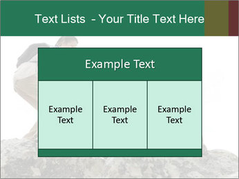 Hiker woman helps PowerPoint Templates - Slide 59