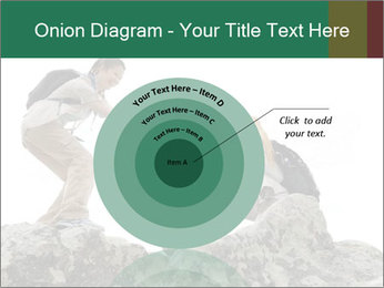 Hiker woman helps PowerPoint Templates - Slide 61