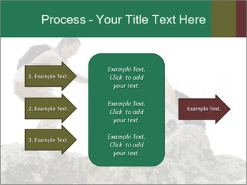Hiker woman helps PowerPoint Templates - Slide 85