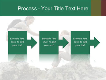 Hiker woman helps PowerPoint Templates - Slide 88