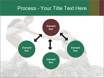 Hiker woman helps PowerPoint Templates - Slide 91