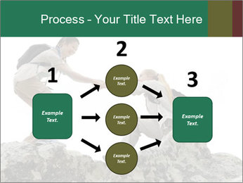 Hiker woman helps PowerPoint Templates - Slide 92