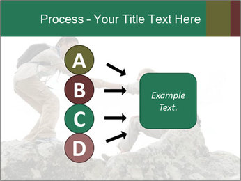 Hiker woman helps PowerPoint Templates - Slide 94
