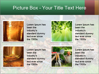 Autumn leaves PowerPoint Templates - Slide 14