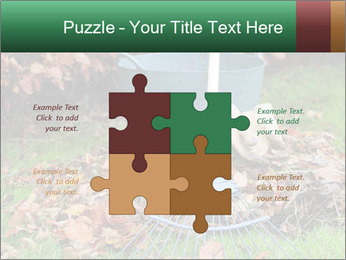Autumn leaves PowerPoint Templates - Slide 43
