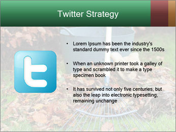 Autumn leaves PowerPoint Templates - Slide 9